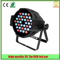 Chinese imports wholesale ! 36*3W Par can disco light