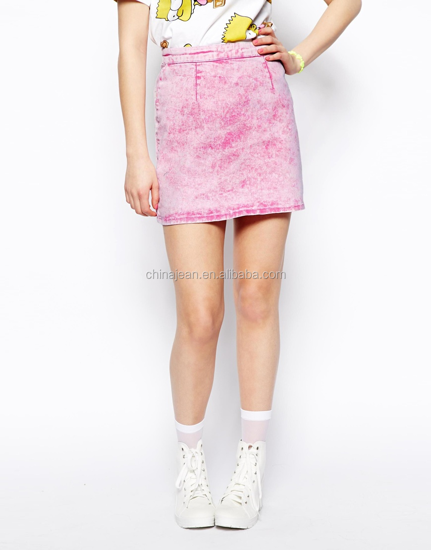 Fashion Short Tight Skirt Pink A-line Skirt Girl Skirt Jxf245 ...