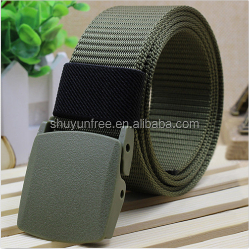 Casual Men/'s Outdoor Sports Tactica Nylon Waistband Canvas Web Belt Dazzling