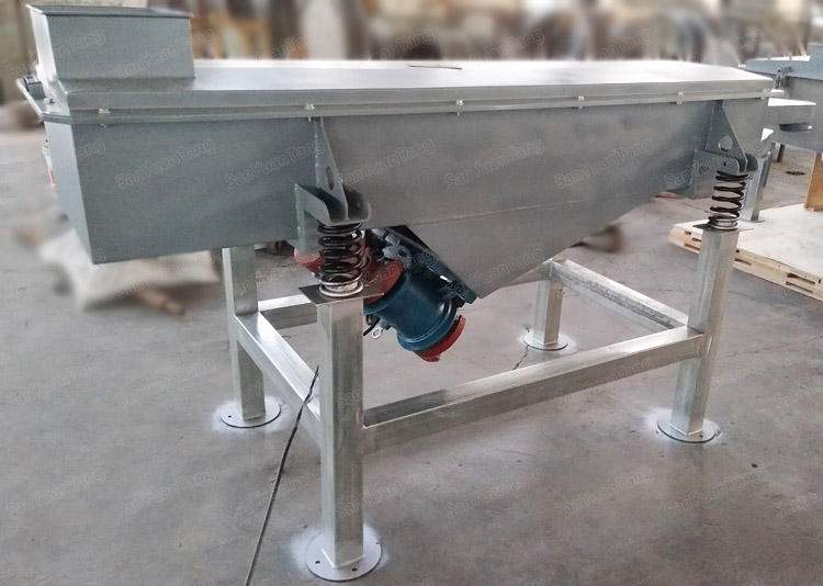 linear motion vibration screen classifier for plastic crusher separating
