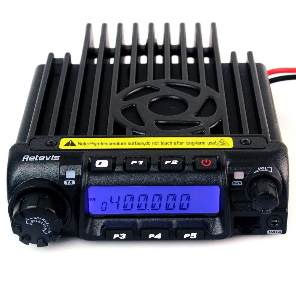 1 шт. автомобилей детектор / радио UHF 400 - 490 мГц трансивер 200ч электро-ctcss / 1024 8 группа скремблер сканирования Retivis мобильных двухстороннее радио A9100