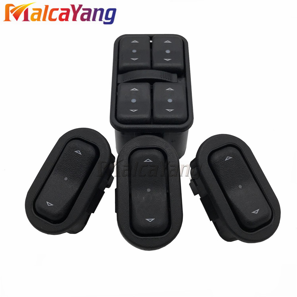 New Master Power Window Switch 90561086 6240106 For Vauxhalls Opels Astras G Zafiras A 1998 1999 2000 2001 2002 2003 2004 2005