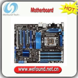 100%working For ASUS P6X58D-E Mainboard Desktop Motherboard X58 DDR3 LGA 1366 Fully tested all functions Work Good