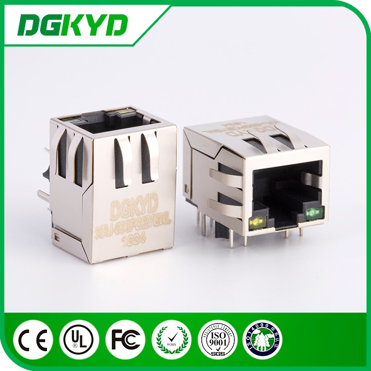 Factory price shielded Cat5e rj45 connector with PoE