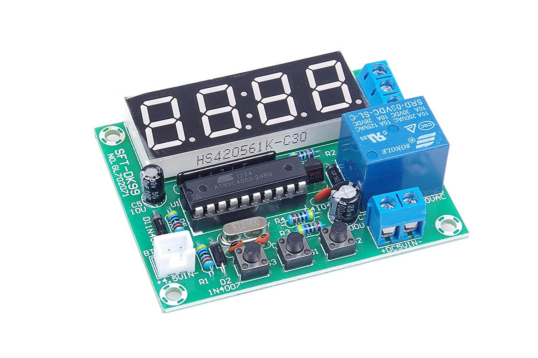 Timer Relay Drok Digital Led Display Switch Panel Ac 85 265v 220v Timing