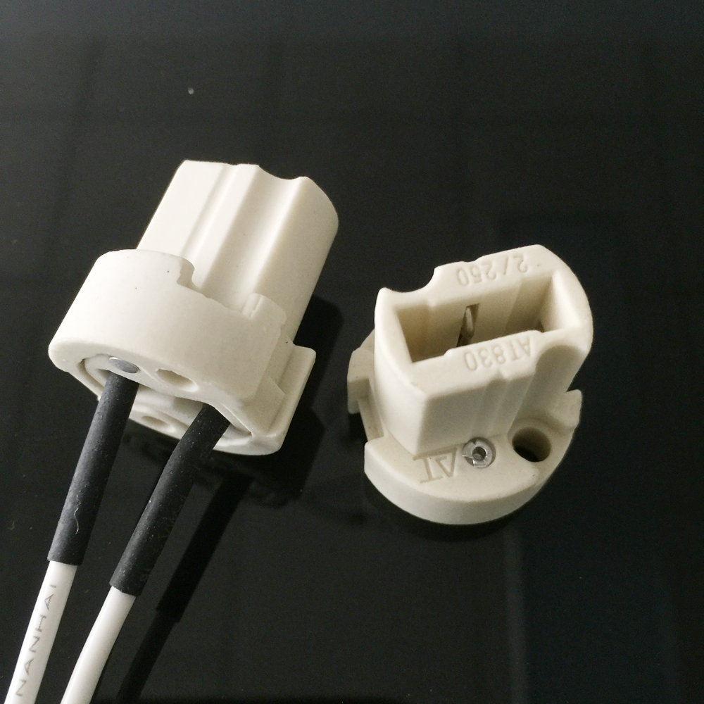 GU10 electric bulb holder with junction box