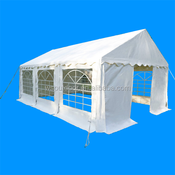 Outdoor 3 x 6 Meters Heavy Duty Wedding Party Tent Marquee Marquees White with Sides