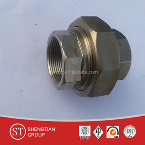 class 3000 union npt union socket welding coupling/union/plug/nipple/cap/ss316 union fittings