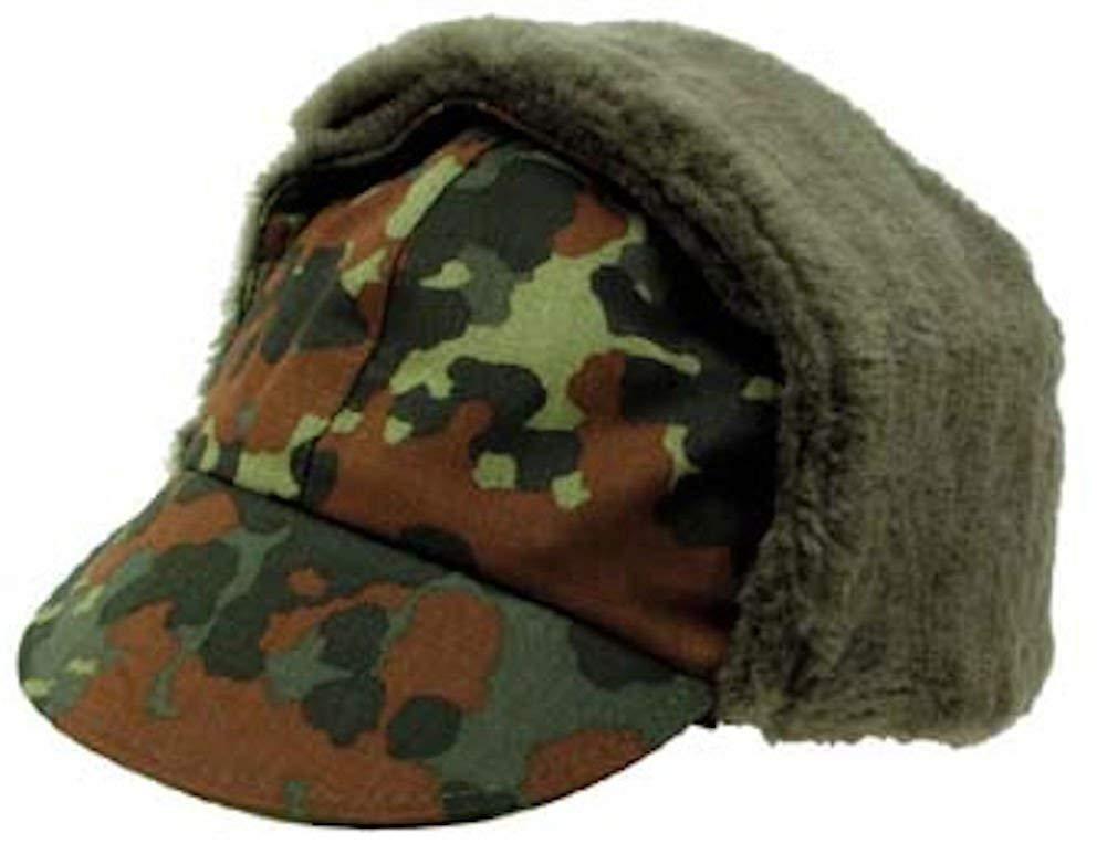 Get Quotations · German Army (Bundeswehr) Winter Cap - FLECKTARN CAMO f5f58174fe2e