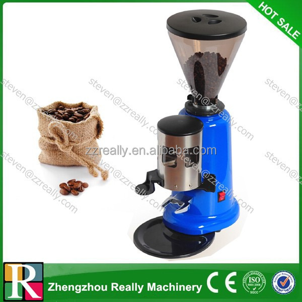 Small home use machine for coffee flour making