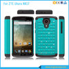 PC+Silicone Hybrid Diamond Cover Hard Case For ZTE Uhura N817