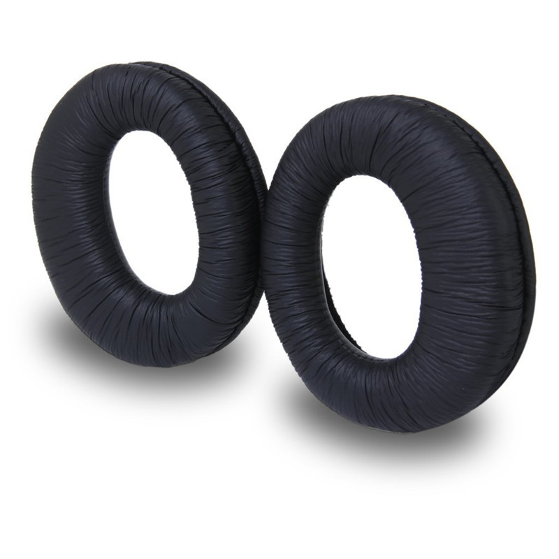 Free shipping 1 Pair Replacement Soft foam Ear Pads Cushion earpads For Sony MDR-RF970R RF970RK RF925R RF925RK Headphone black