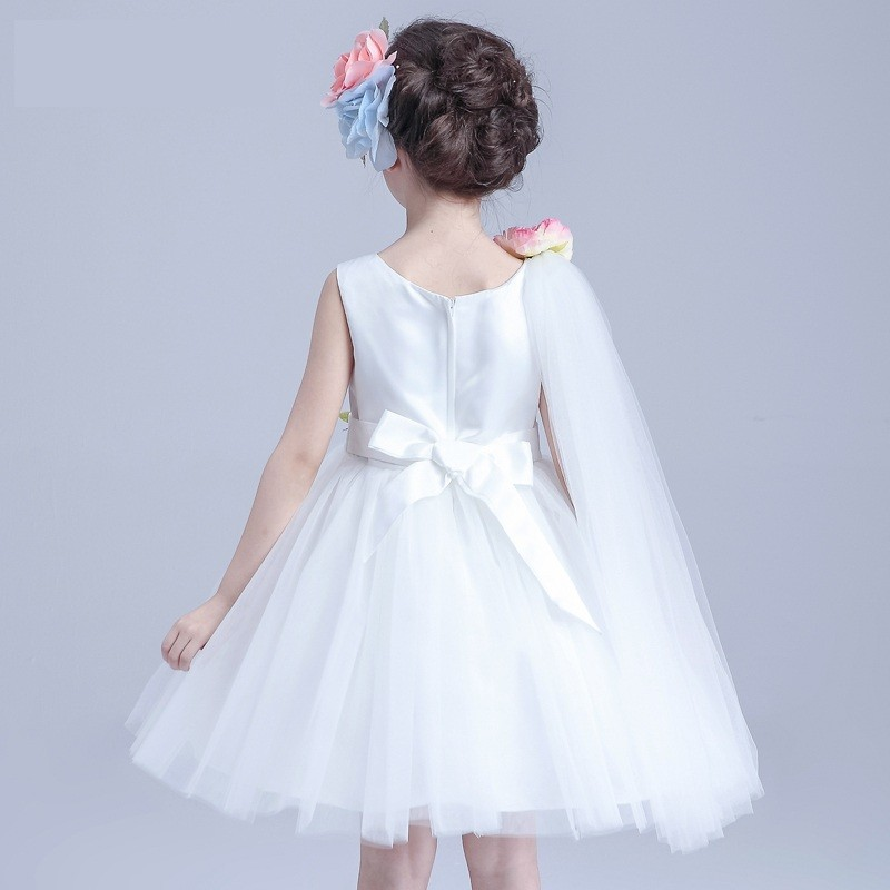 6af65d135 2017 Girls Dress Up Games Names With Pictures Ivory Jacquard Bodice With  Tulle Skirt Removable Sashes