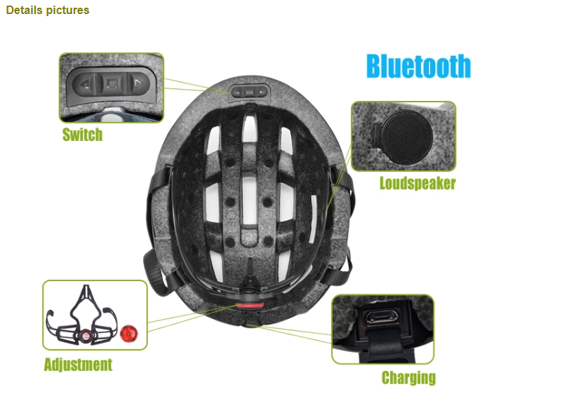 Bicycle Helmet With Bluetooth 3