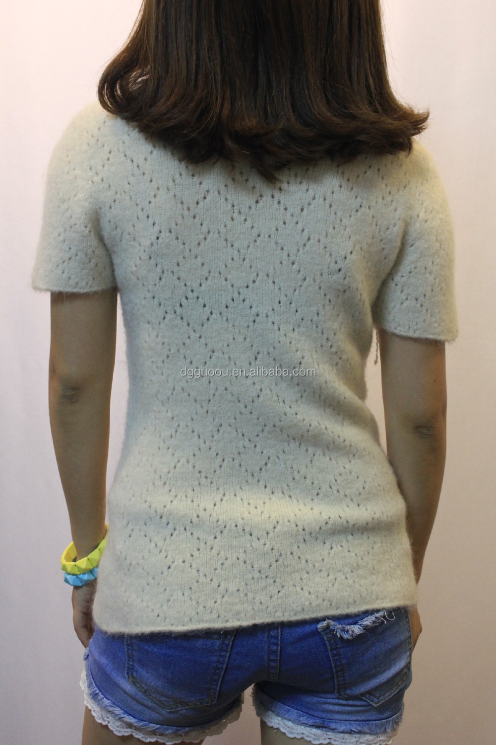 Latest Handmade Knit Wool Sweater Design For Girl & Lady