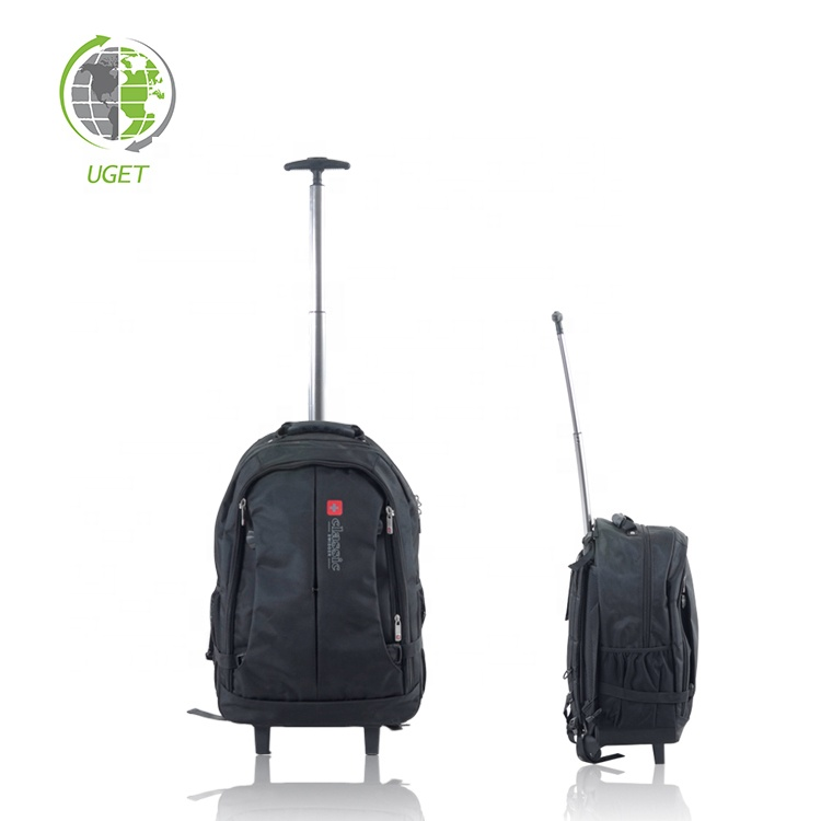 Free Sample Rolling Premium Trolly Travel Gear Cabin Crew Trolley Bag Luggage
