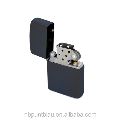 metal lighter two colors promotional lighter