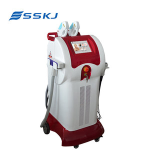 beauty salon equipment! 3 in 1 vertical multifunction rent ipl machine(CE SFDA)