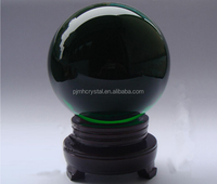 100mm Natural polished green crystal quartz sphere ball MH-BL041