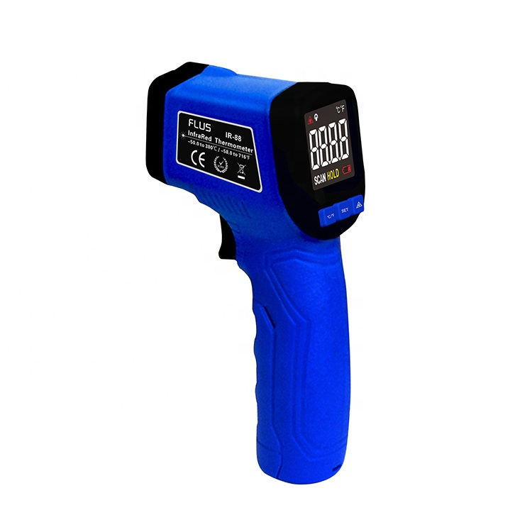 Non-contact laser Color LCD display Infrared Thermometer - KingCare | KingCare.net