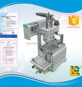 Manual mini semi-automatic gravure Ink well mouse pad printing machinery for sale LC-TPM-150