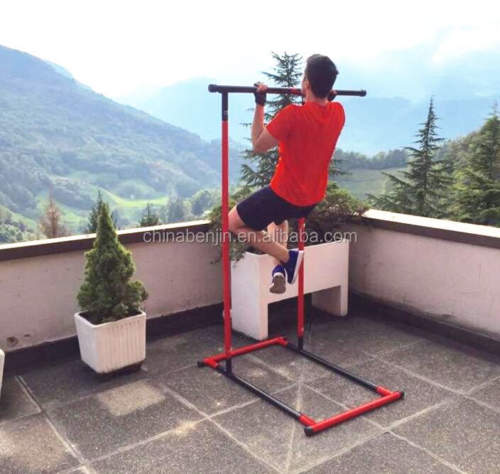 Home Gym Body Workout Pull Up Bar Fitness Draagbare Spier Building Pull up Rack Hand Grips Gymnastiek Parallettes Bar