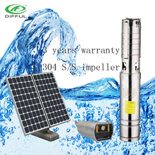 1.5hp solar water pump irrigation solar submersible water pump