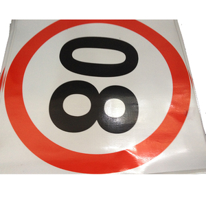 PVC Honeycomb Reflective Safety Sign for Road Traffic