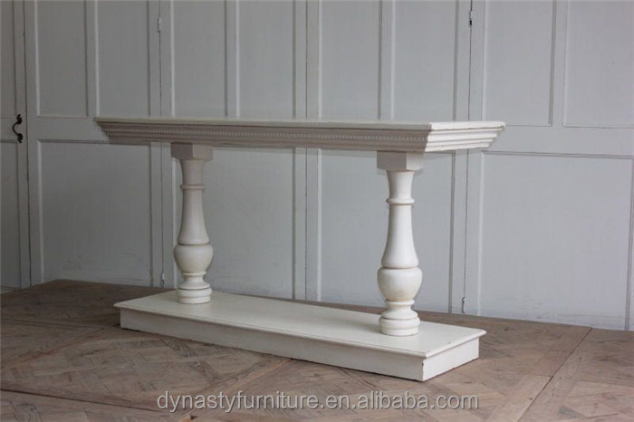 antique french style wood console table for sale