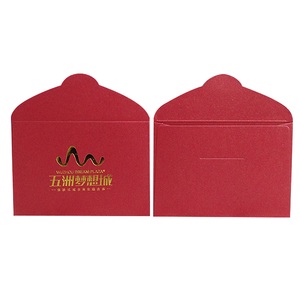 Luxury envelope small red packet