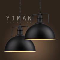 Industrial Iron metal Pendant lighting ul vintage E27 pendant lamp Nordic loft design pendnat light