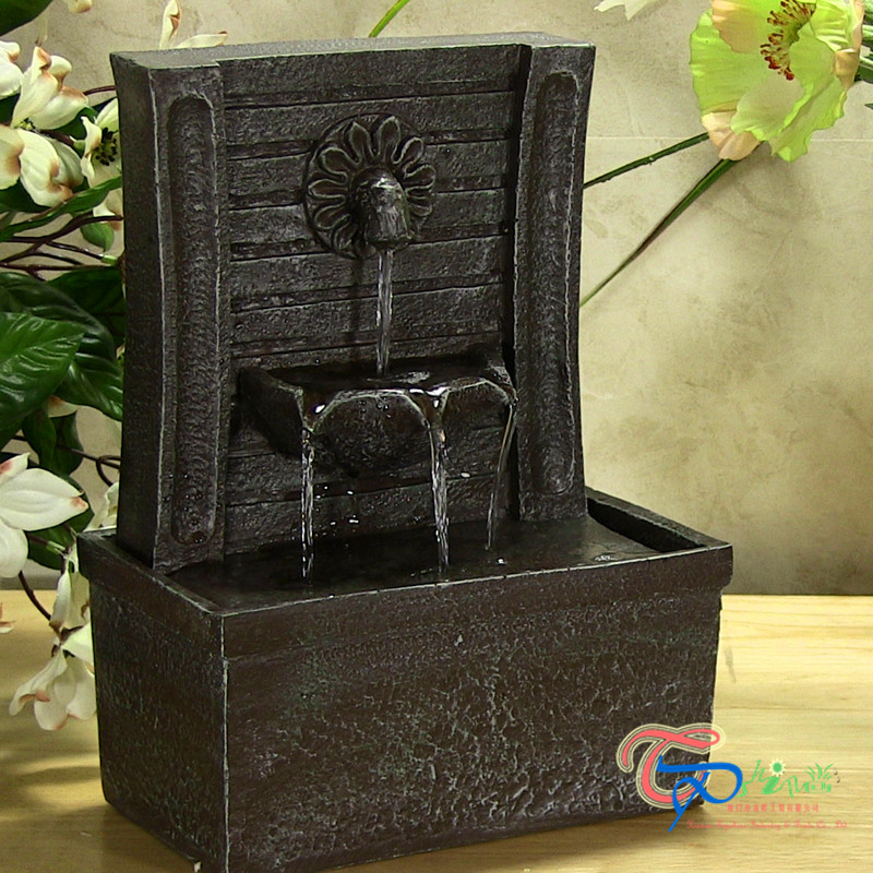 Wholesale price polyresin hand pump desktop water fountain pump