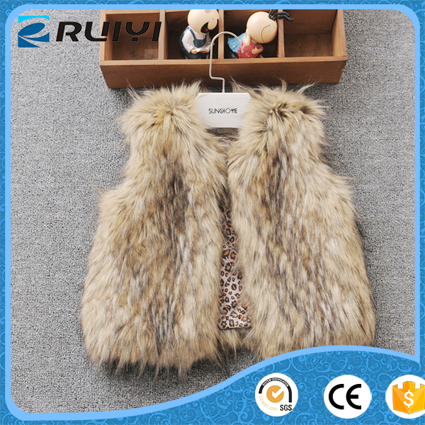wholesale children's boutique lamb wool winter faux fur coat