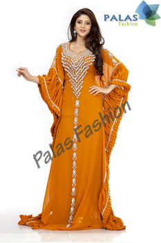 fa382602929a Wedding Dubai Kaftan Dresses - Arabic Caftan Abaya Jalabiya Ladies Maxi  Dress Wedding Gown