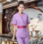 manufacturer OEM Cotton Tunic Women's Salon Uniform SPA clothes beauty uniform