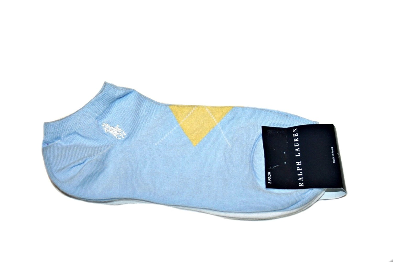 Buy Polo Ralph Lauren Womens Argyle 3-Pack Socks Sz  9-11 fits shoe ... ce7f00dd59