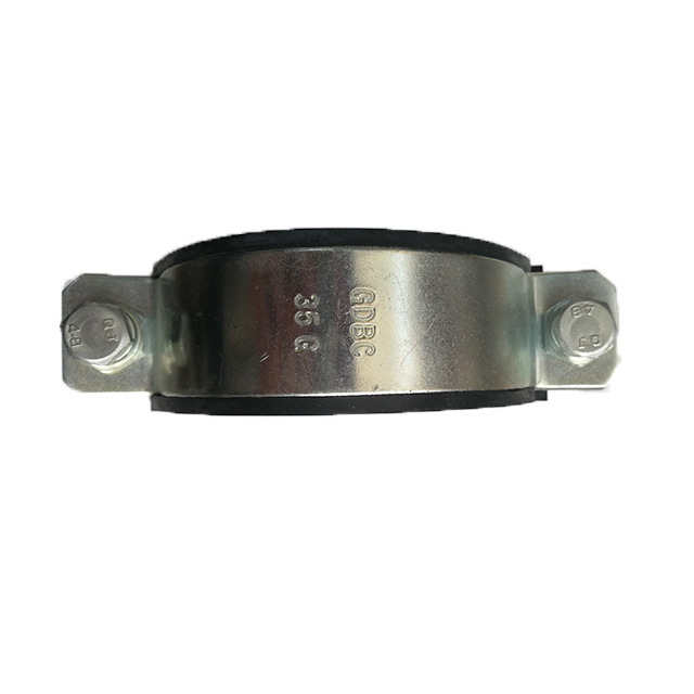 DBC-35G DBC- P Type Steel Pipe Clip With Fixing Rubber Clamp