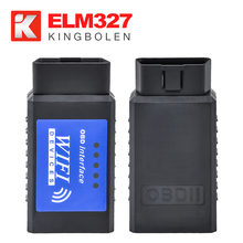 Nuovo <span class=keywords><strong>WIFI</strong></span> <span class=keywords><strong>ELM327</strong></span> V1.5 con PIC18F25K80 Chip OBDII Diagnostico Wireless Scanner Per IPhone Touch ELM 327 <span class=keywords><strong>WIFI</strong></span> OBD 2 Scanner