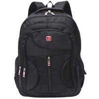 Heavy duty tough high-quality shakeproof waterproof pro sports travel multi purpose black backpack laptop