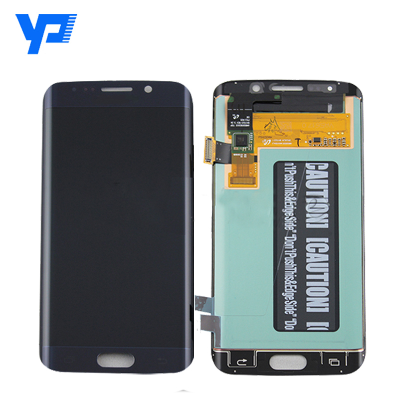 LCD digitizer assembly per Samsung galaxy s6 bordo, digitizer schermo per Samsung galaxy bordo s6 phone