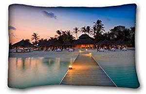 "Generic Baby Boys' Nature Beaches water beach maldives palm trees resort Nature Beaches Size 20""X30"""