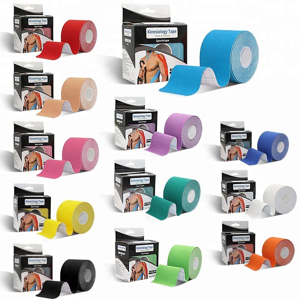 Gratis monster 12 kleuren custom athletic kinesiologie tape
