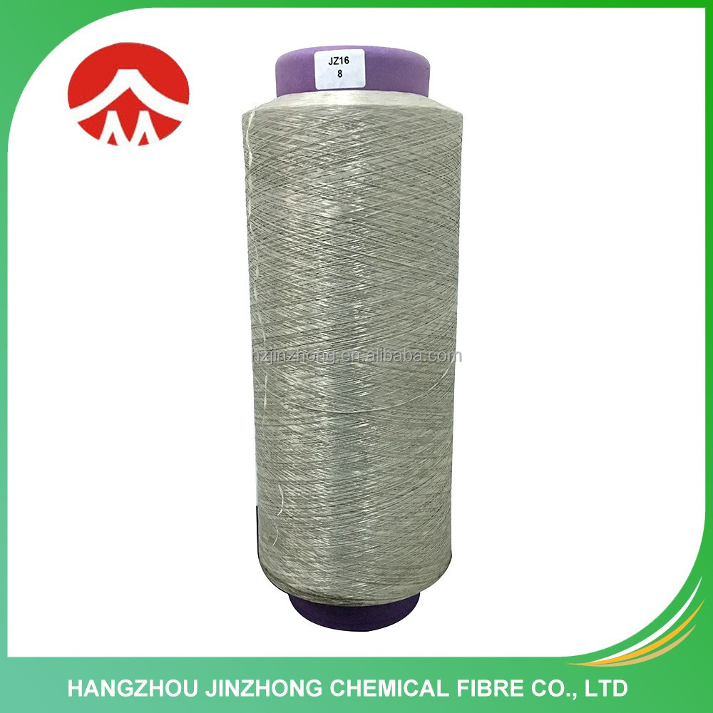 China Factory Wholesale E Glass Fiber Polyester Textile Shappy Carpet yarn