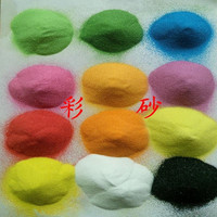 Hot sale decorative colored glass sand for vase filler wedding decoration and home decoration