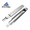 Industrial heavy capacity 227kgs 76 mm high heavy loading drawer slides runner 1500mm drawer slide for 1500mm slide drawer