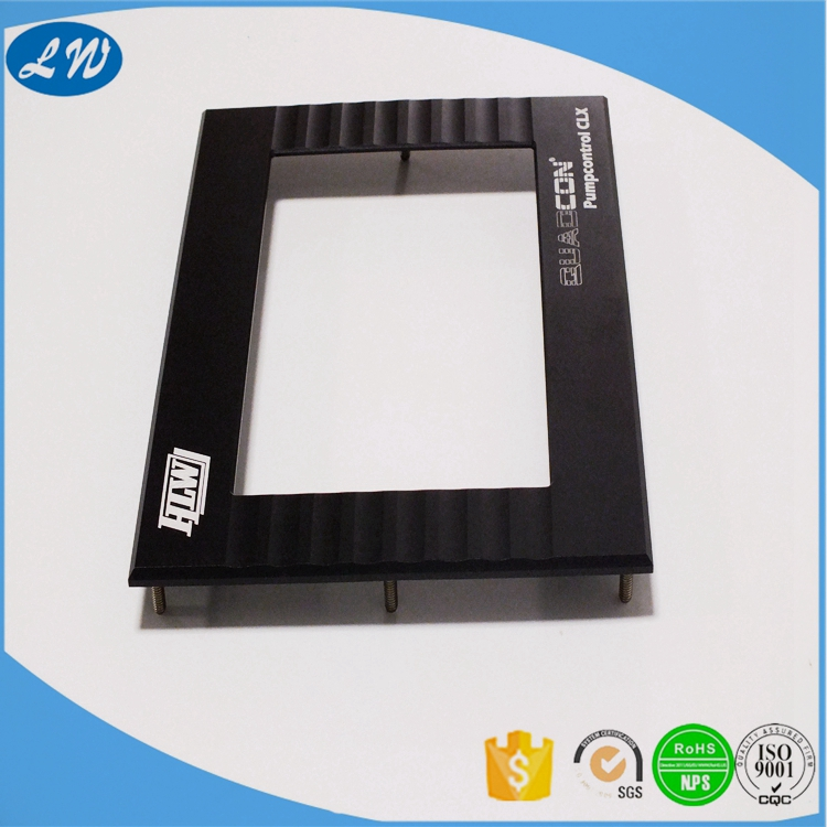 China factory OEM high quility CNC aluminum window digital photo frame parts