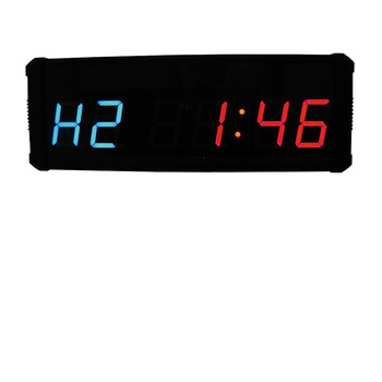 Super grade digital 8 inch outdoor sport event countdown timer stopwatch large led clock