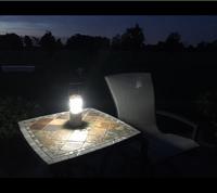 New Design Camo Wood Pattern Table Lamp Led Night Light Base