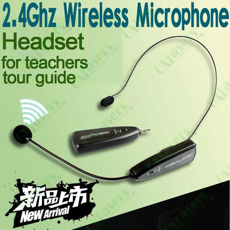 buy portable 2 4g wireless headset microphone for megaphone amplifier speaker. Black Bedroom Furniture Sets. Home Design Ideas