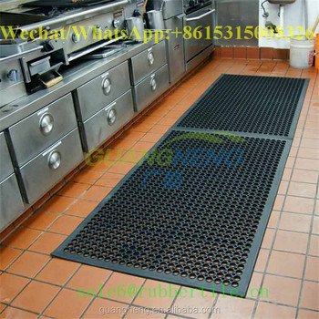 commercial kitchen recycled tile rubber door mat - Rubber Door Mat